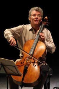 Xavier Gagnepain - Violoncello & Jennifer Fichet - Klavier @ Burg Wernberg, Kaminsaal